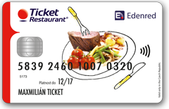 AKCEPTACE E-CARD TICKET RESTAURANT A GASTRO PASS